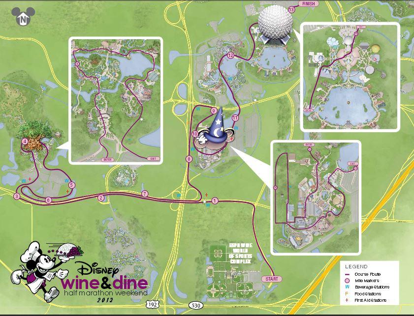 In Depth Look At Rundisney 2013 Wine Amp Dine Half Marathon