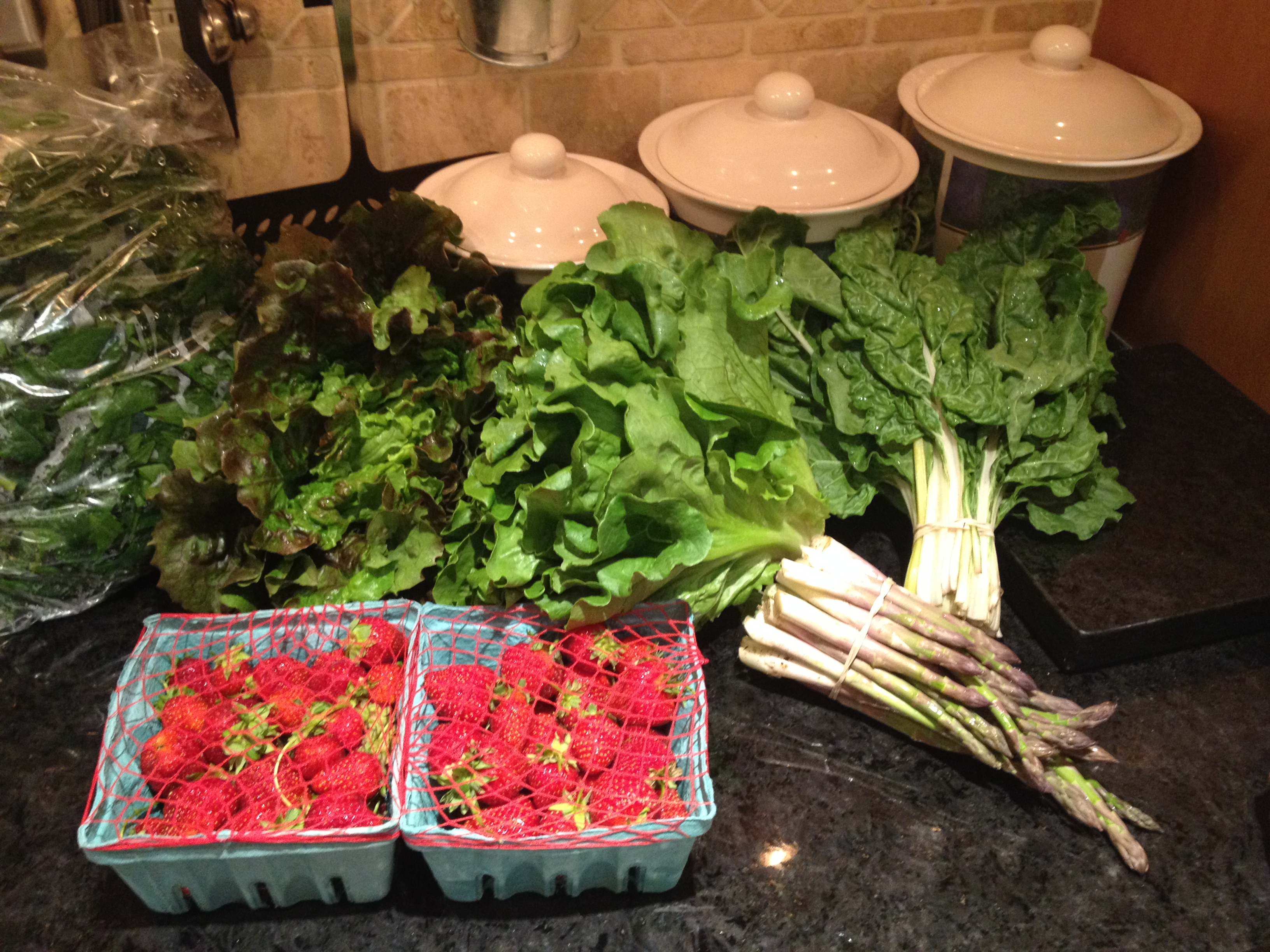 Summer 2014 CSA – Vegetable Box week 2