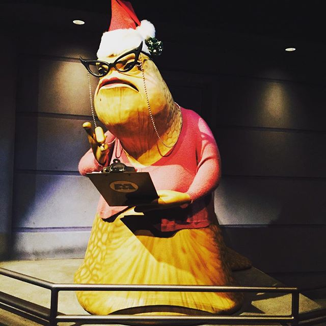 Disneyland – Even Roz is ready for Christmas!