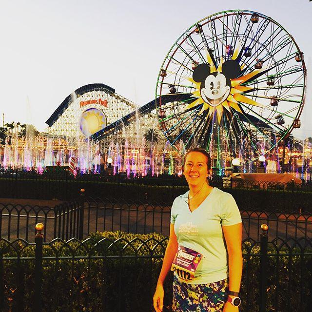 Disneyland – Fun, fun, fun Captain America 10K this morning!