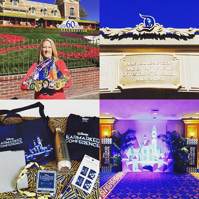 Disneyland – Time for me to switch from RunDisney & theme park fanatic to being a great travel agent! Earmarked Conference begins today!