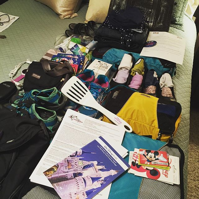 Walt Disney World – Packing again! I'm heading out in the morning for to run the and then I'll drive south to Fort Lauderdale for conference! 10 nights on the road. Have laptop, will travel!