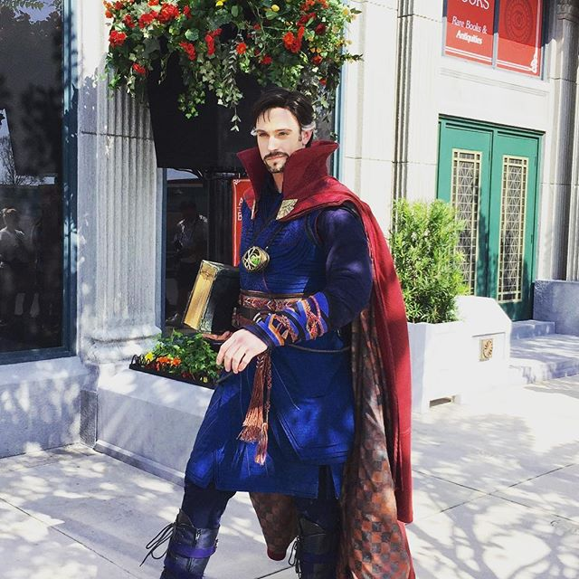 Walt Disney World – We found Dr. Strange giving lessons in the mystic arts at