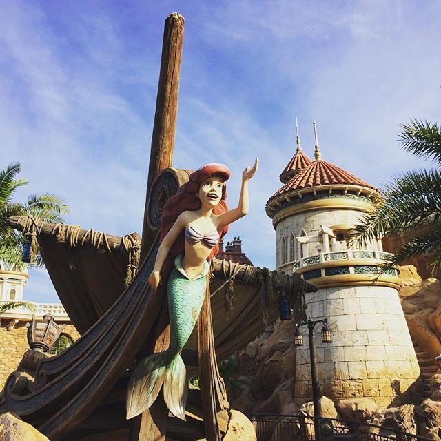 Walt Disney World – We went Under The Sea with Ariel & friends!