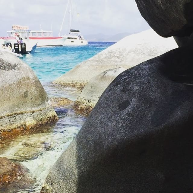 Our stop in Tortola took us to The Baths on Virgin Gorda.  Amazing place!