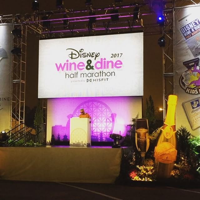 Wine & DIne Half Marathon – It may be 4 am, but with RunDisney, it's always a party!